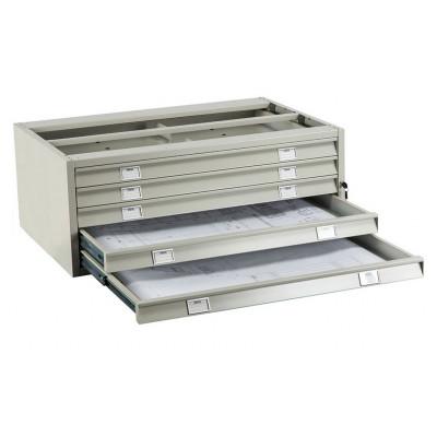 Картотечный шкаф ПРАКТИК A1-05/2 (промежуточная секция)