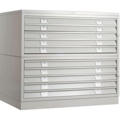 Картотечный шкаф ПРАКТИК A1-05/3 (низ)