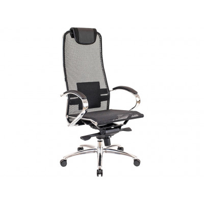 Кресло руководителя Deco ткань-сетка
