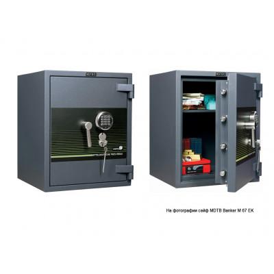 Взломостойкий сейф MDTB Banker M 1055 EK