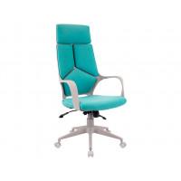 Кресло Trio Grey ткань бирюзовая