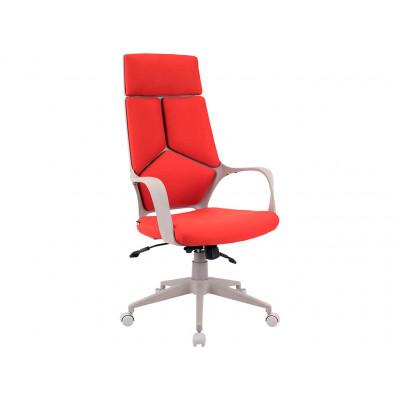 Кресло Trio Grey ткань красная