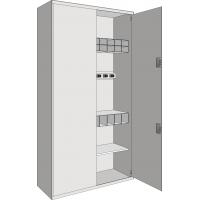 Шкаф для 10 автоматов АКСУ