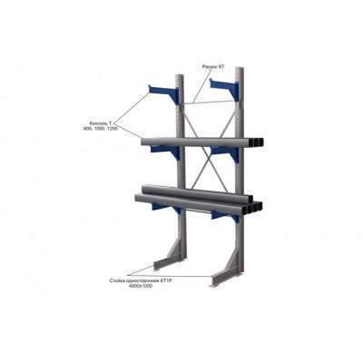 Стеллаж консольный КТ-1 (1000 кг/консоль)